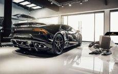 画像4: Lamborghini ランボルギーニ Huracan ウラカン LP580-2 カーボン リア ディフューザー 本物DryCarbon (4)
