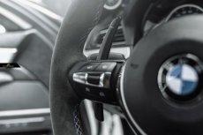 画像9: BMW 1シリーズ F20 ハンドル用パドルシフト 本物DryCarbon ドライカーボン 116 118 M135 M140 (9)