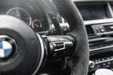 画像7: BMW 1シリーズ F20 ハンドル用パドルシフト 本物DryCarbon ドライカーボン 116 118 M135 M140 (7)