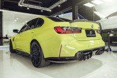 画像6: BMW 3シリーズ G80 M3 トランク用 リアスポイラー フォージド 鍛造 本物DryCarbon ドライカーボン (6)