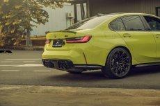 画像7: BMW 3シリーズ G80 M3 トランク用 リアスポイラー フォージド 鍛造 本物DryCarbon ドライカーボン (7)