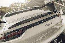 画像3:  PORSCHE ポルシェ Cayenne カイエン Coupe クーペ 9Y0 GT リアスポイラー 本物DryCarbon ドライカーボン (3)