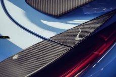 画像7: TOYOTA トヨタ A90 SUPRA スープラ SZ SZ-R RZ リアスポイラー アイライン 5点セット 本物Drycarbon ドライカーボン (7)