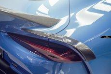 画像5: TOYOTA トヨタ A90 SUPRA スープラ SZ SZ-R RZ リアスポイラー アイライン 5点セット 本物Drycarbon ドライカーボン (5)