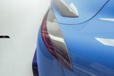 画像6: TOYOTA トヨタ A90 SUPRA スープラ SZ SZ-R RZ リアスポイラー アイライン 5点セット 本物Drycarbon ドライカーボン (6)
