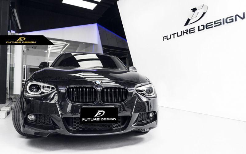 画像1: BMW 1シリーズ F20 Mスポーツ LOOKに変身 エアロパーツ フロント リア バンパー ボディ キット M-SPORT (1)
