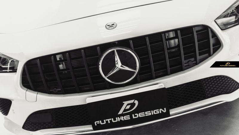 画像1: BENZ メルセデス・ベンツ CLA-Class W118 GTR パナメリカーナ グリル GTグリル CLA180 CLA200d CLA250 AMG ブラック仕様 スポーツ (1)